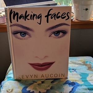 Making Faces Book by Kevyn Aucoin